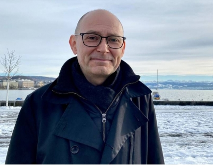 Dr. Andreas Haldimann, Mathematik-Dozent und Krimiautor